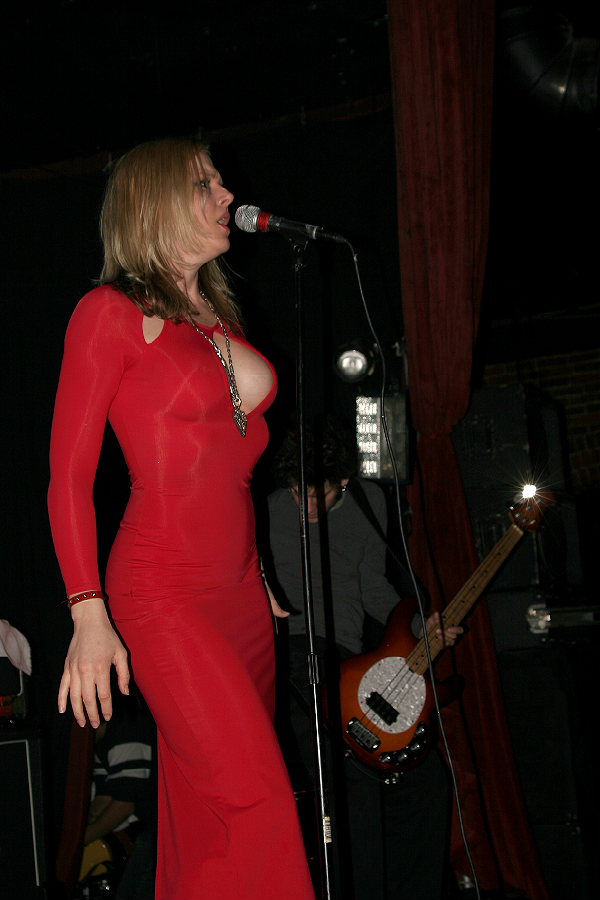 Storm Large Red Dress